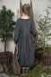 Preview: Long Tunika Jeanne darc living Kleid grey
