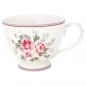 Mobile Preview: GreenGate Teetasse Elouise white