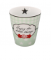 Preview: Becher Tasse Enjoy mint Blume Krasilnikoff
