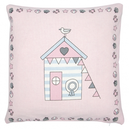 GreenGate Kissen Ellison pale pink pieceprinted 40 x 40 cm