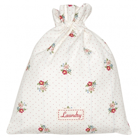 GreenGate Laundry bag Eja white Beutel mit Zugband