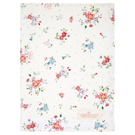GreenGate Geschirrtuch Belle white Küchentuch Tea towel