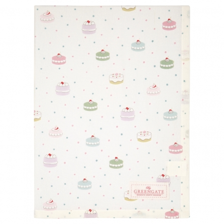 GreenGate Geschirrtuch Madelyn white Tea towel Küchentuch