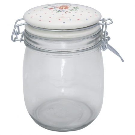 GreenGate Vorratsglas Storage Belle white 0,75 l