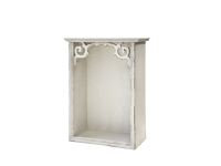 Wandregal Holz Shabby Chic Antique